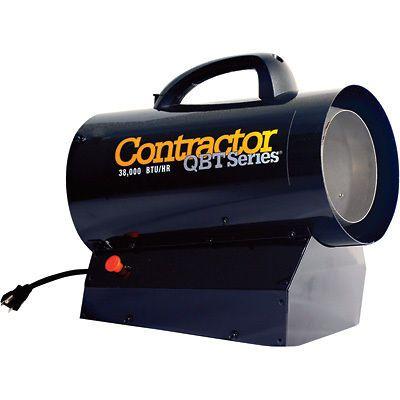 Mr. Heater Portable Propane Forced Air Heater  38K BTU #MHQ38FA