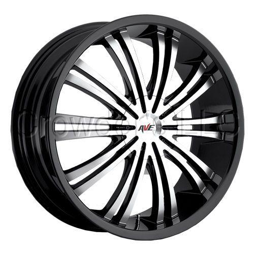Avenue Car Truck Wheel Rim Black 601 18 inch 5 lug