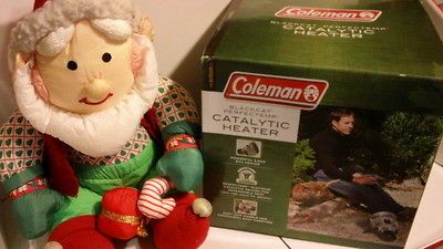 NEW COLEMAN BlackCat PerfecTemp CATALYTIC PROPANE HEATER CAMP TENT