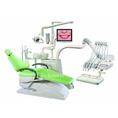 Controlled Integral Dental Unit Chair FDA CE approved D4 Hard Leather