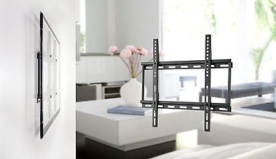 TV wall mount bracket for a flat screen t.v. from 23 46 Brand New