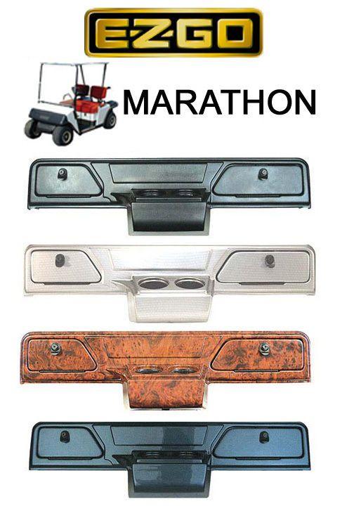 EZGO Marathon Golf Cart Dash Cover Carbon, Wood, Titan
