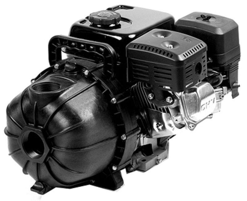 HP 200 GPM Poly Transfer Pump With PowerPro Gasoline Engine