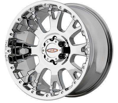 20x9 Moto Metal MO956 Chrome Wheel/Rim(s) 7x150 7 150 20 9