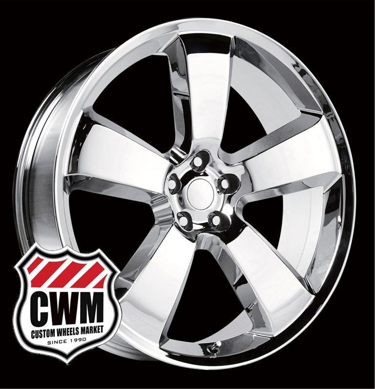 Charger SRT8 Style Chrome Wheels Rims for Dodge Challenger 2013
