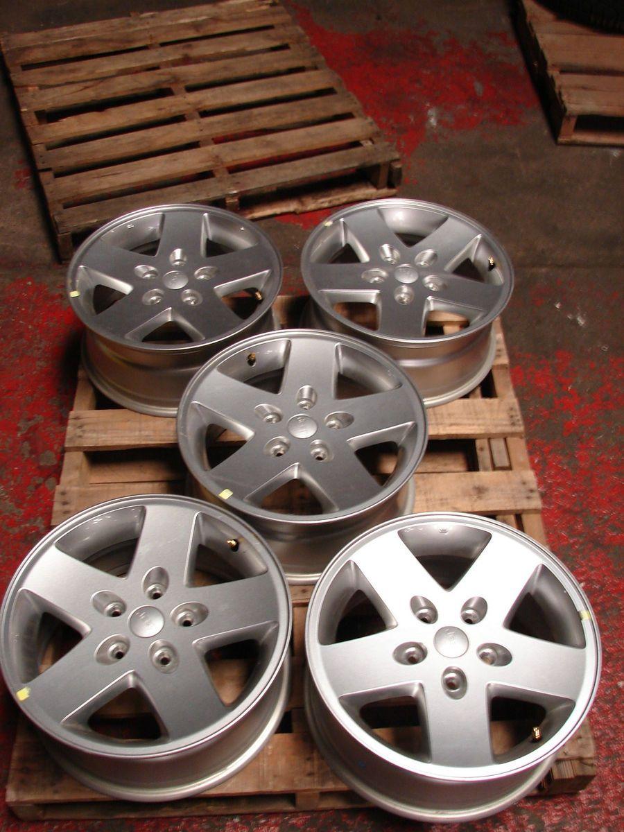 17 Jeep Wrangler 5 Spoke Wheel Wheels Rims Alloys