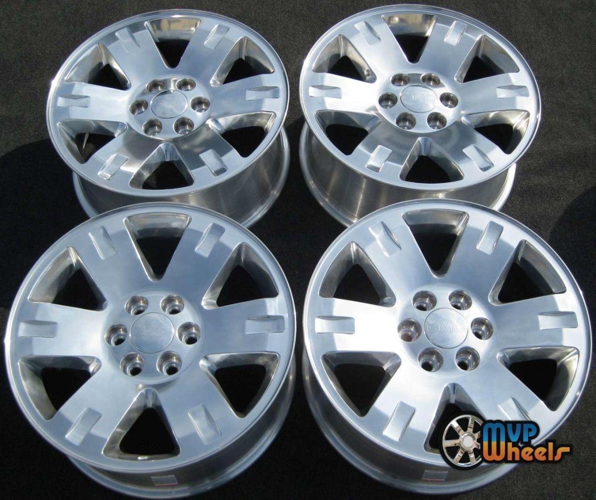 20 GMC Sierra Yukon Silverado Tahoe Chevy Wheels Rims 5307 Set 4 NEW