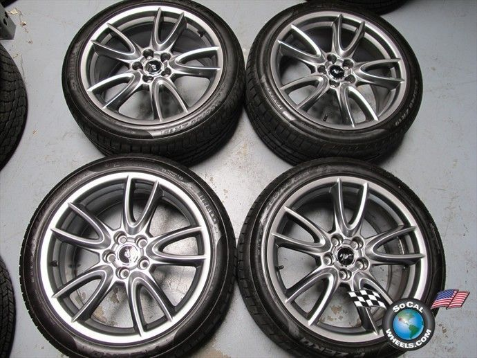 11 12 Ford Mustang Factory 19 Wheels Tires Rims 3862 BR331007BB