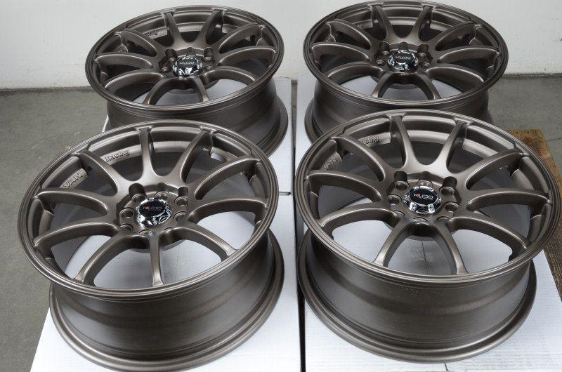 Bronze Rims Civic Accord CRX Yaris Jetta Passat CL 4 Lug Wheels