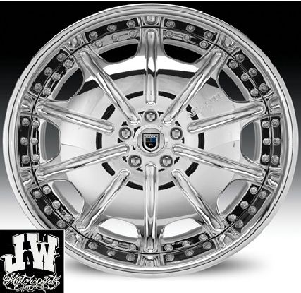 24 inch asanti AF 204 Wheels Chevy Ford GMC Charger