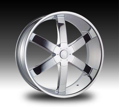 26 Chrome Wheels Tires 6x139 Chevy GMC Titan Armada Infiniti