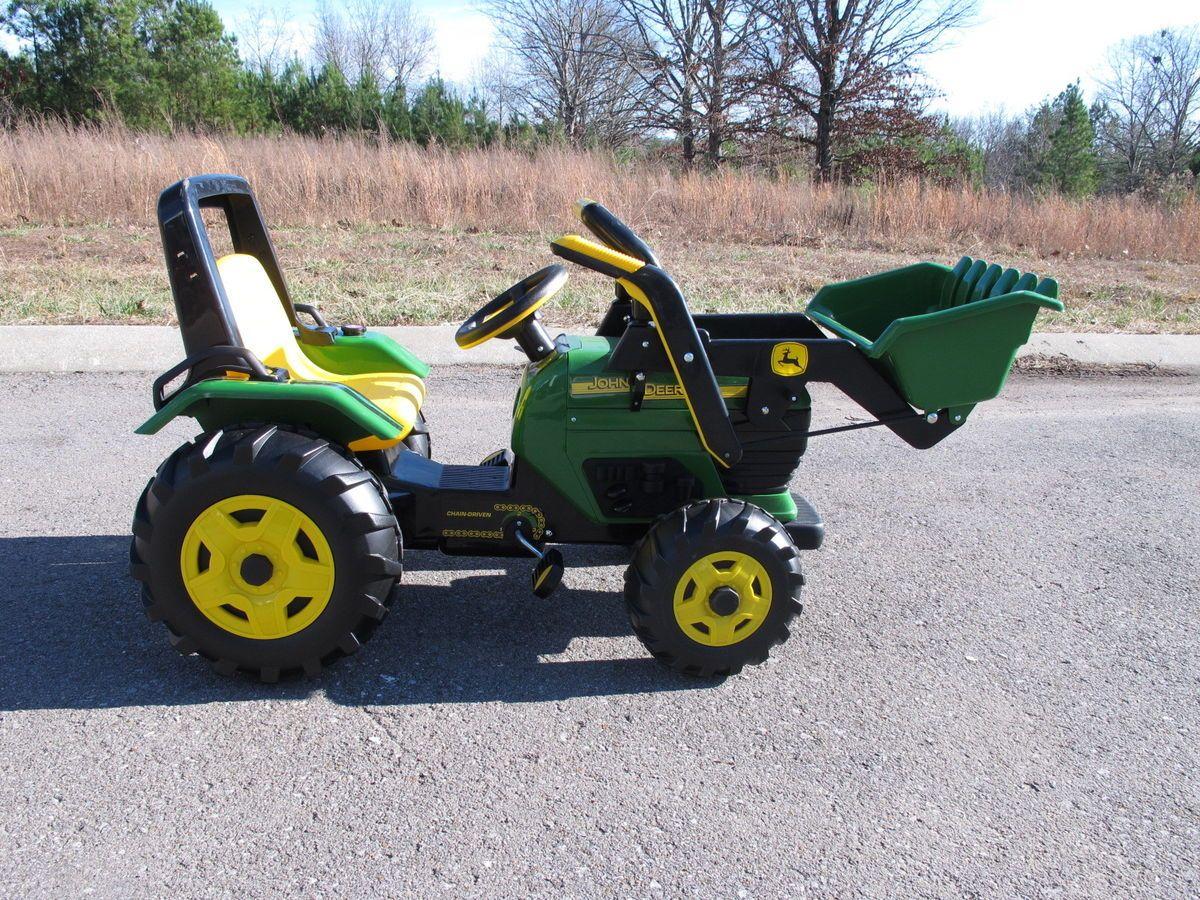 Peg Perego John Deere Loader Chain Drive Ride On Power Wheels 644e Wiring Harness
