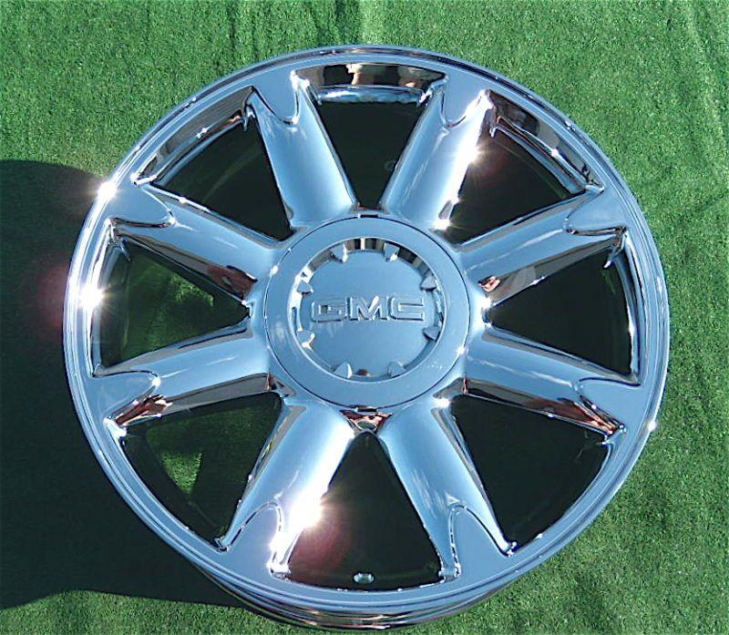 Factory Style GMC Yukon Sierra Denali Chrome 20 in Wheel 5304