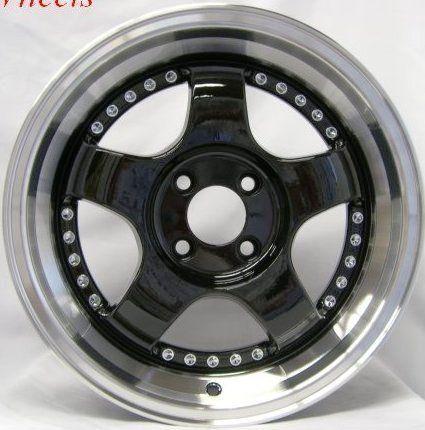 Rota D2 18x9 4x114 3 ET30 73 1 Royal Black Wheel Rims