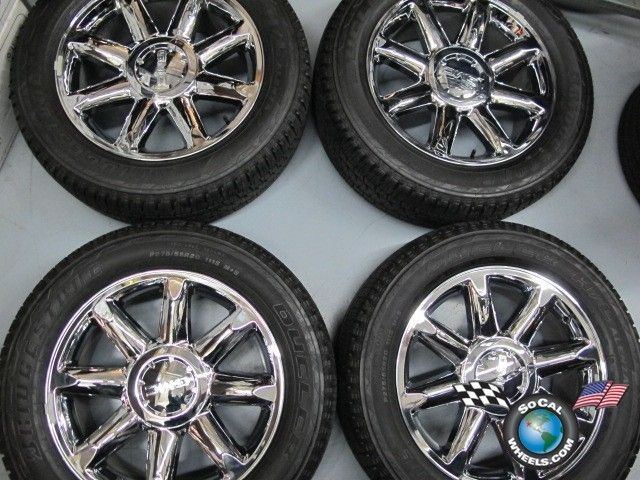 GMC Yukon Denali Sierra 1500 Factory 20 Wheels Tires Rims 5304