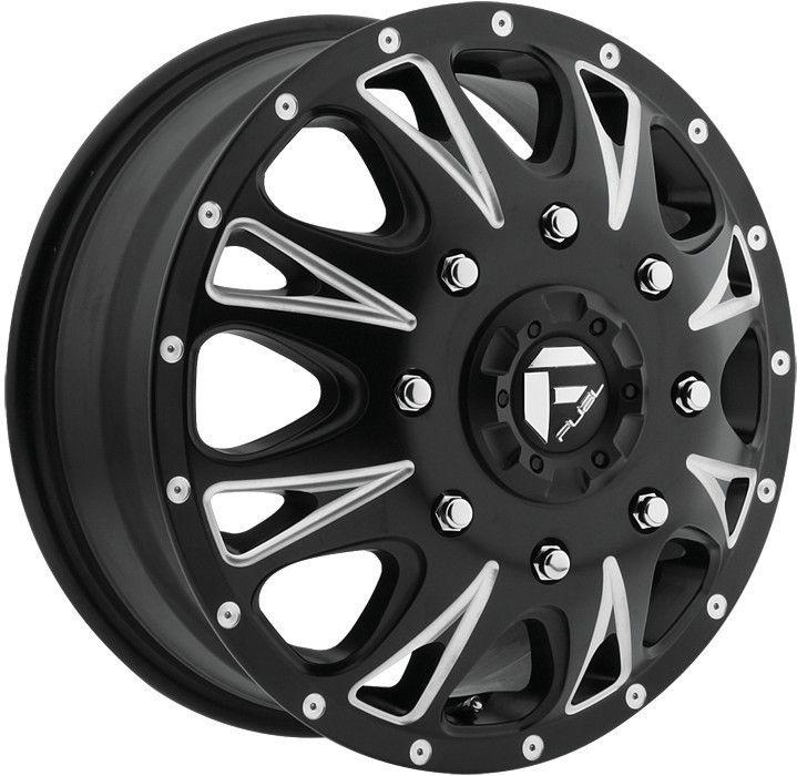 Throttle Dually Dualie Black Wheel Rim 8x6 5 GMC C 3500 C 2500