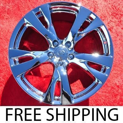 New 20 Infiniti M37 M56 Chrome Factory OEM Wheels Rims G35 Q45 73731