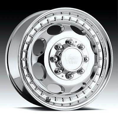 19 5 Chrome Ford Chevy Dodge GMC Dually Wheels Tires