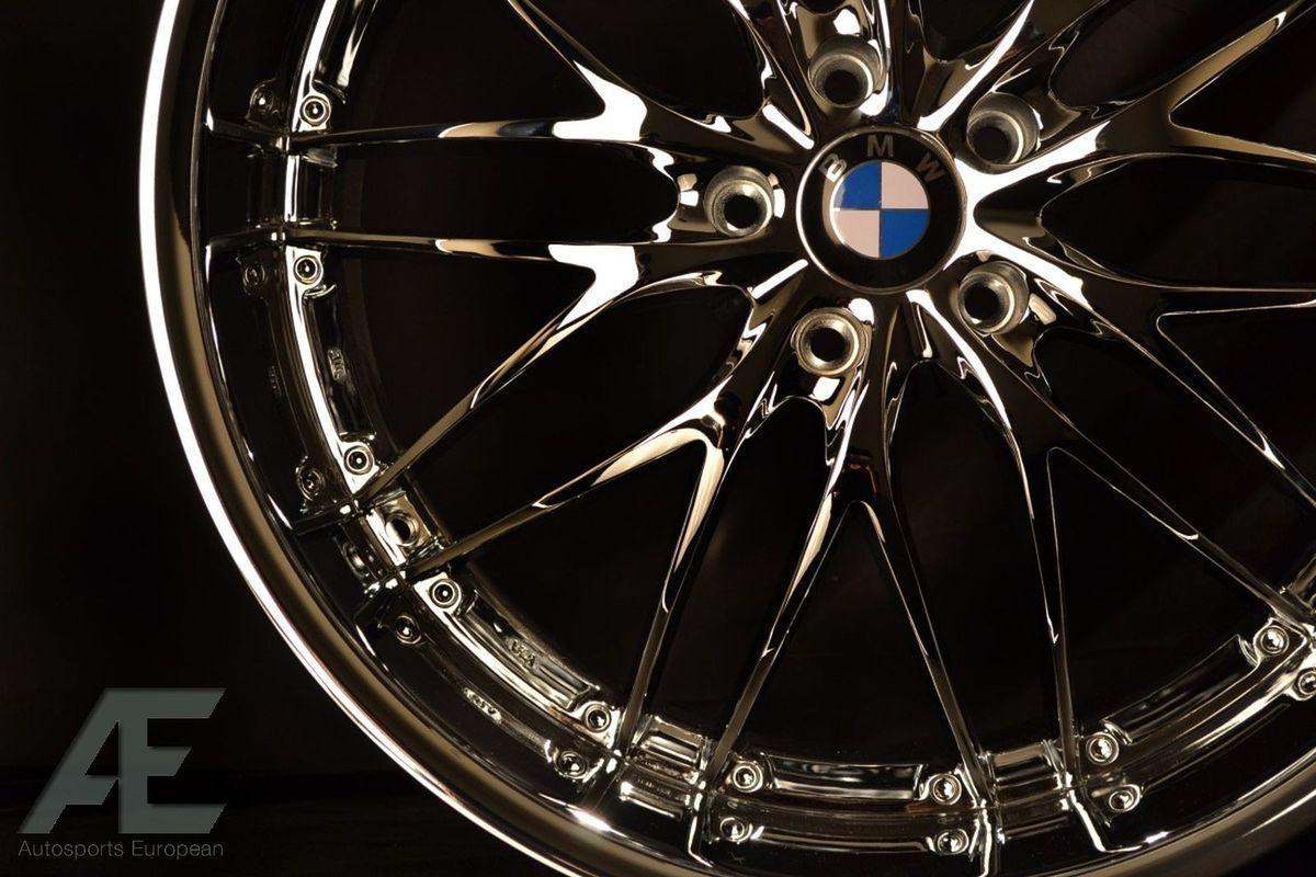 inch BMW E53 E70 E71 x5 M x6 M Wheels Rims and Tires GT1 Chrome