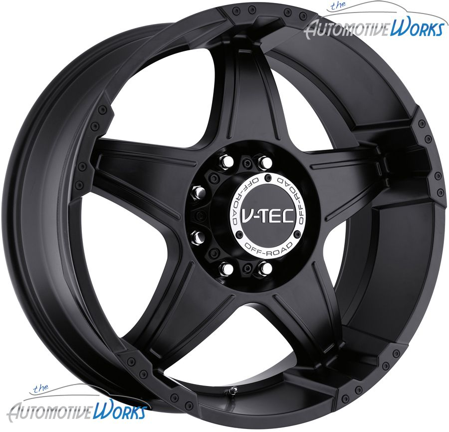 Tec Wizard 5x114 3 5x4 5 20mm Matte Black Wheels Rims inch 20