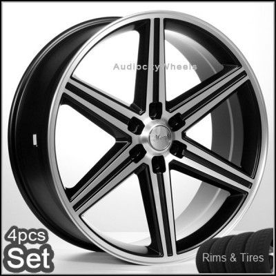 24 IROC Wheels Rims and Tires Chevy Escalade Nissan Tahoe Siverado He