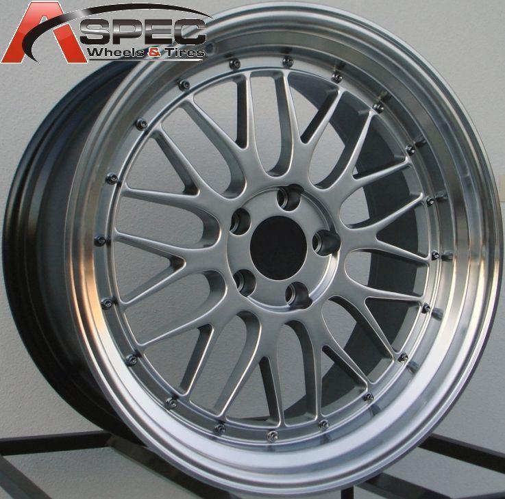 LM Style Hyper Black Wheels 5x120 Rim Fits BMW 328 335 01 Up