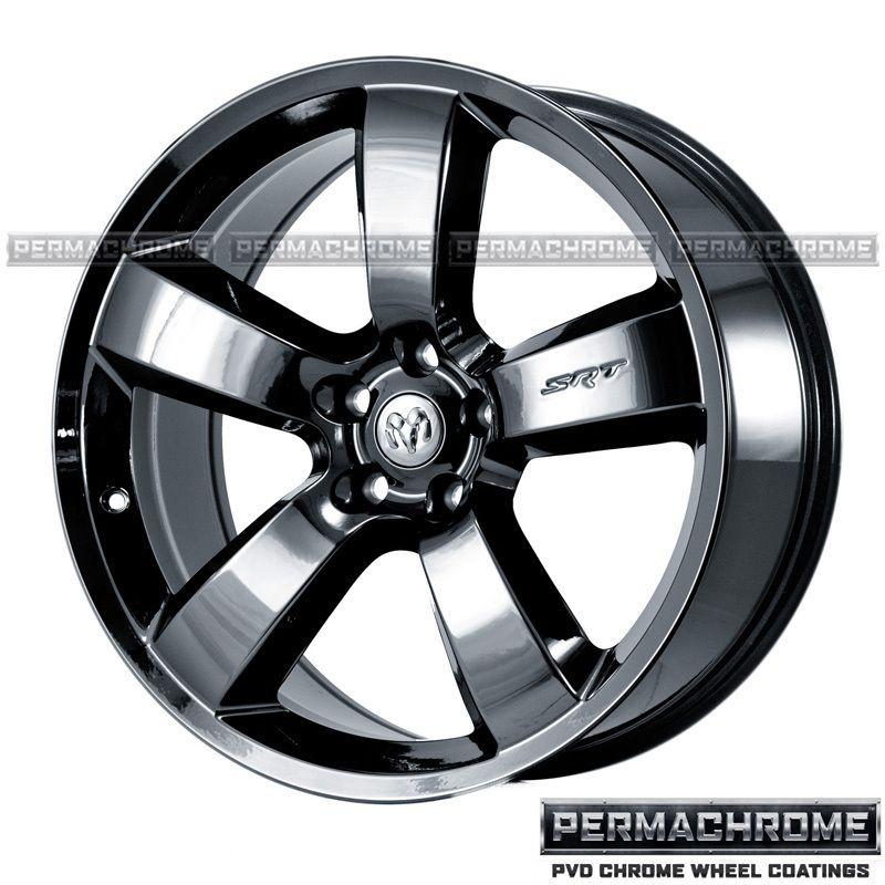 20 DODGE CHARGER SRT8 BLACK CHROME WHEELS   PERMACHROME   OUTRIGHT