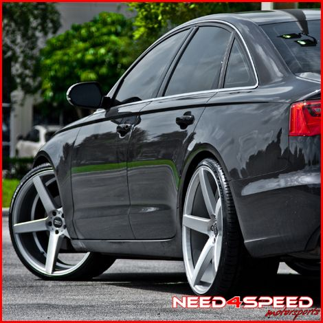 Accord Coupe XO Miami Concave Silver Staggered Wheels Rims