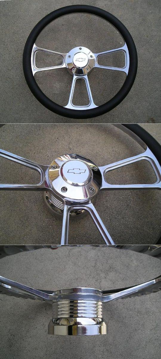 1969 94 Chevy Truck Van Camaro Buick Cadillac Billet Steering Wheel
