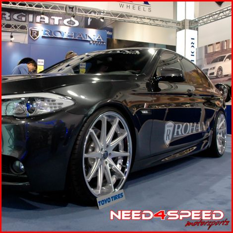 M3 Coupe Rohana RC10 Deep Concave Silver Staggered Wheels Rims