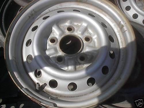 1992 92 93 94 95 Toyota Truck Steel Wheel Rim 14