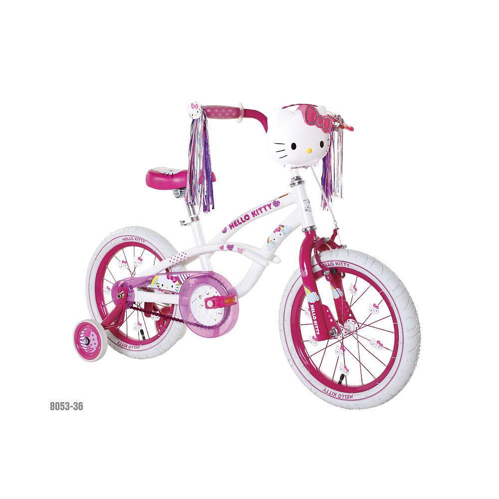 Hello Kitty Girls Bicycle Bike 16 w Training Wheels BNIB