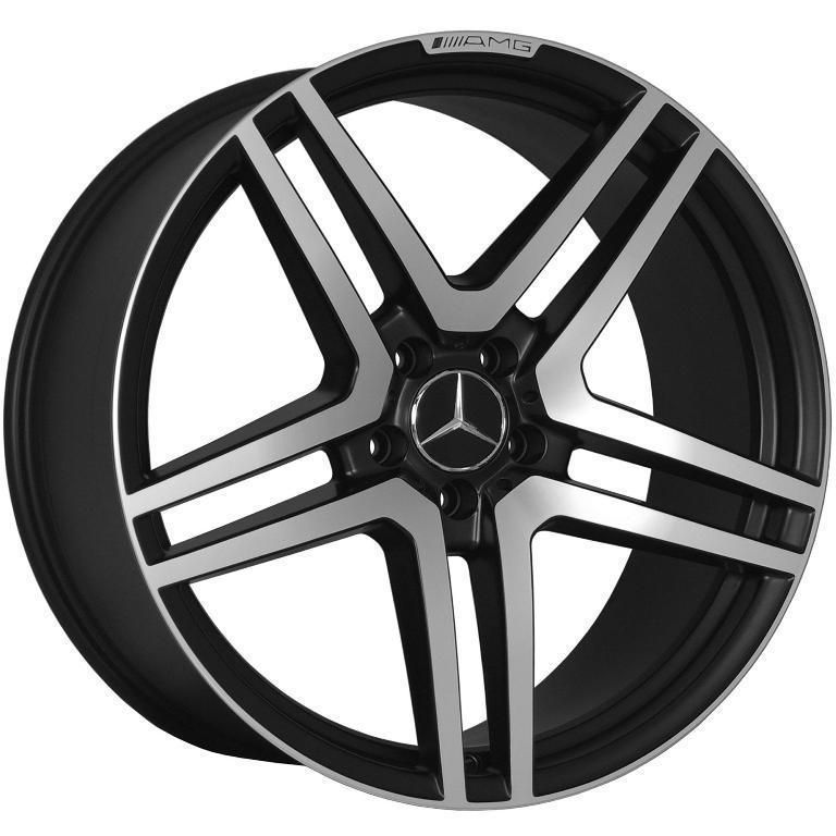 20 AMG STYLE STAGGERED WHEELS 5X112 RIM FITS MERCEDES BENZ C CLASS 230