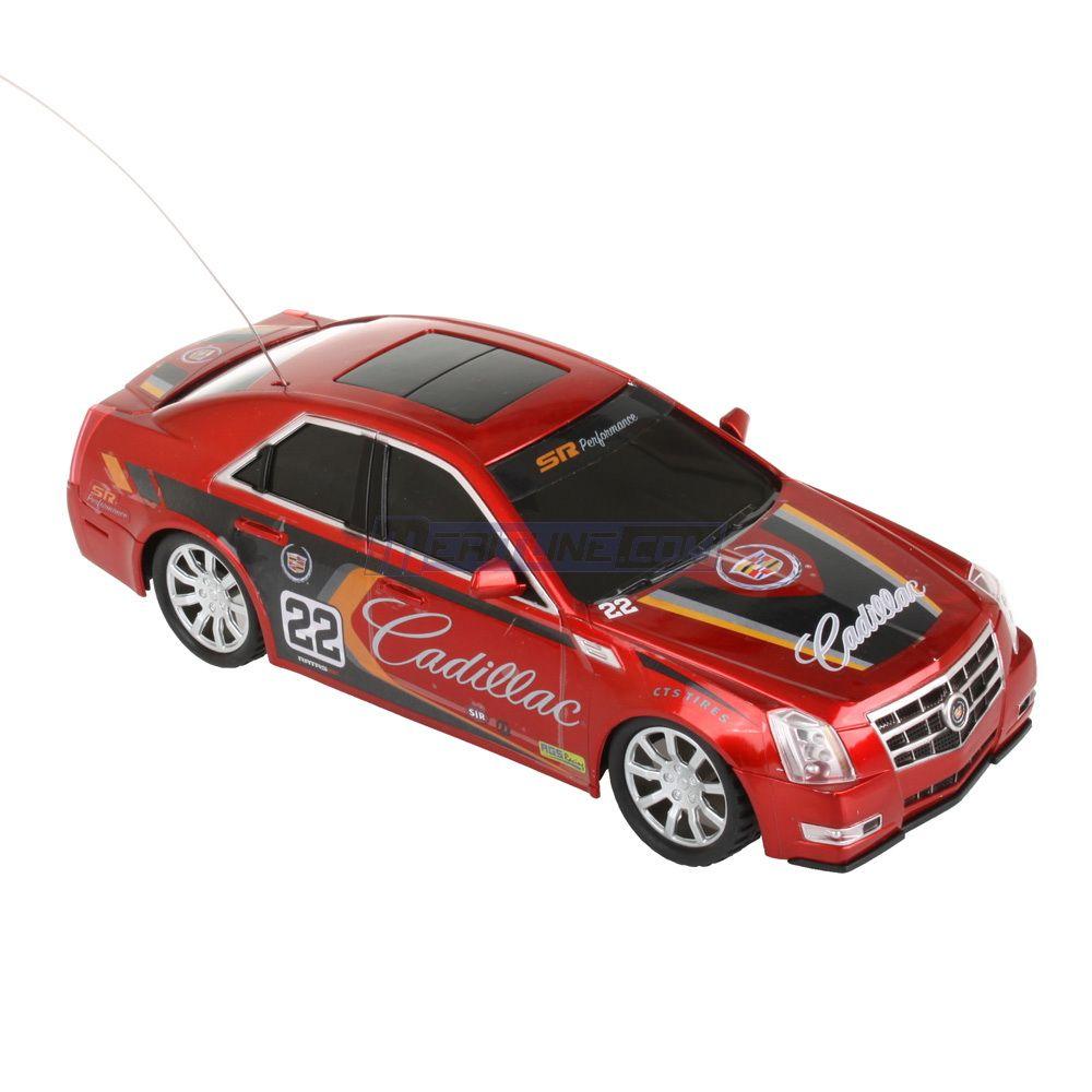 Mega motors radio control cadillac cts rc racing car red for Mega motors las vegas