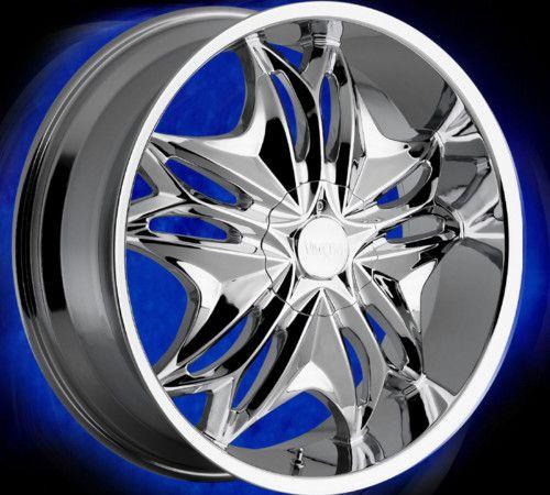 22 inch 6 lug Rims 22 Wheels Chevy 1500 Tahoe Nissan 6X5 5 Viscera 728