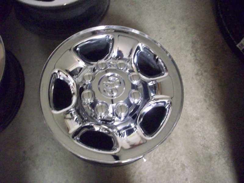 17 Dodge RAM 2500 3500 Factory Chrome Wheels Rims