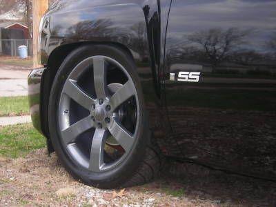 Chevy GM 1500 SS Silverado Wheel Rim Comp Grey Gray Sierra Escalade