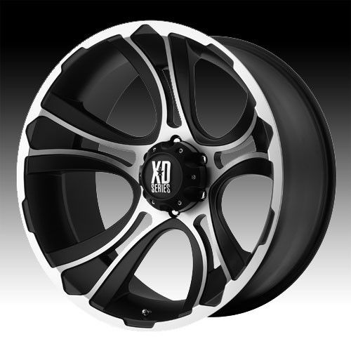 17 inch 17x9 XD Machined Wheels Rims 8x6 5 8x165 1 RAM 3500 Hummer H2
