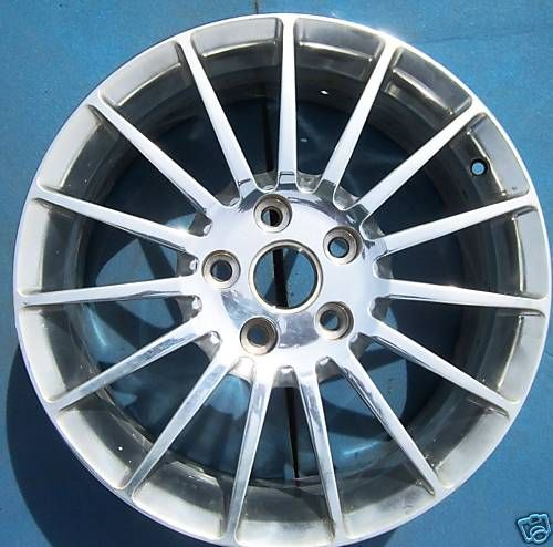 2007 2008 2009 Cadillac XLR 18 Factory Wheel Rim Polished 4639