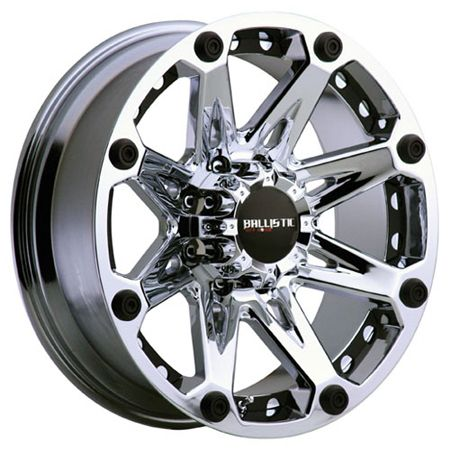 20x9 Ballistic Wheels Jester Chrome Rims 8x165 H2 Chevy 2500 Dodge