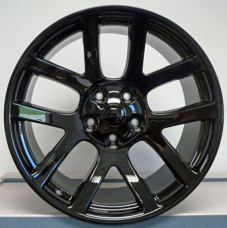 22 SRT10 Dodge RAM Dakota Durango Wheel Rim Black