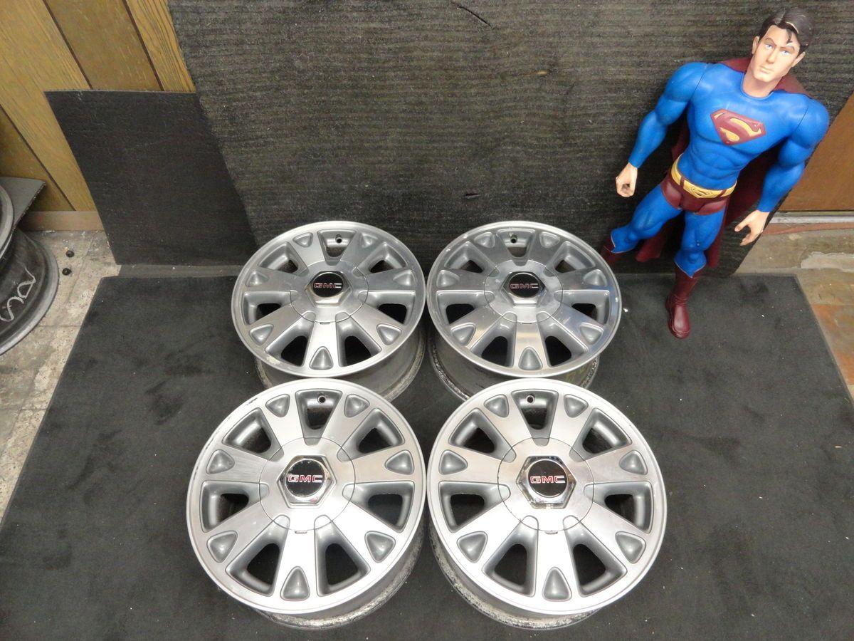 15 GMC Jimmy Chevy s 10 Blazer Rims 4x4 S10 Wheels Sonoma ZR2 Factory