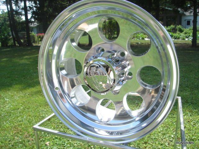 171 Polished ion 16x8 6 Lug Chevy GMC Truck Toyota Wheels