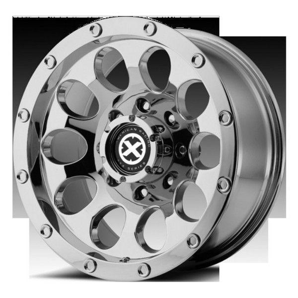 AX 186 American Racing Chevy Toyota Wheels 6 Lug 15x10