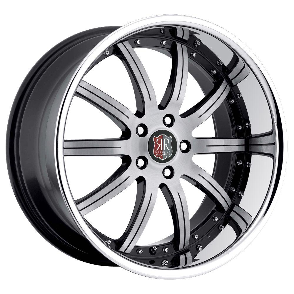 19 MRR RW3 Black Chrome Wheels Rims Fit Lexus IS3000 IS250 is350 Is F