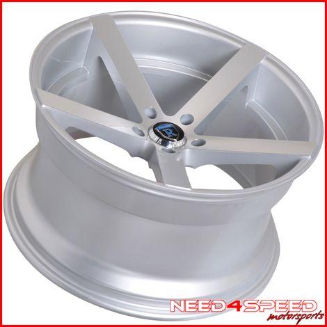 W215 CL500 CL55 CL600 Rohana RC22 Concave Silver Wheels Rims