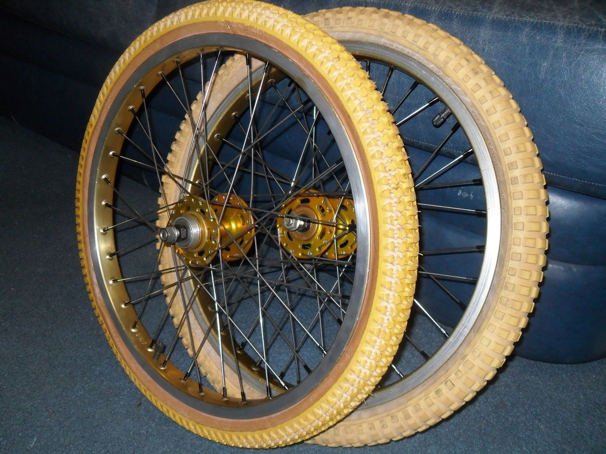 General At Tires >> Araya 7c Rims ACS Z Rim Hubs Cyclepro Snakebelly and COMP2 Tires BMX