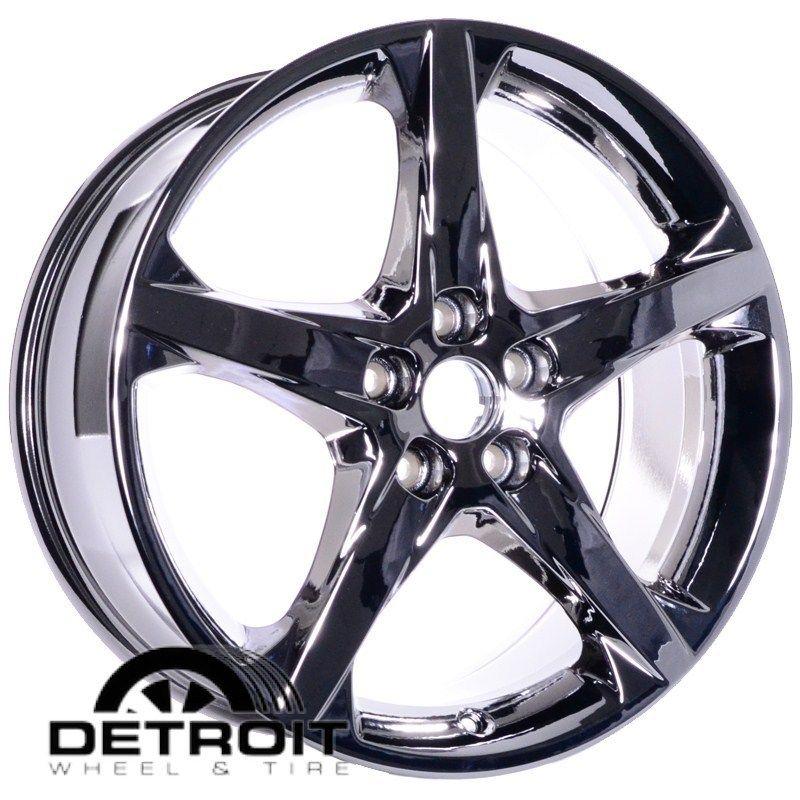 2012 Ford Focus 18 Chrome Wheels PVD Rims Exchange