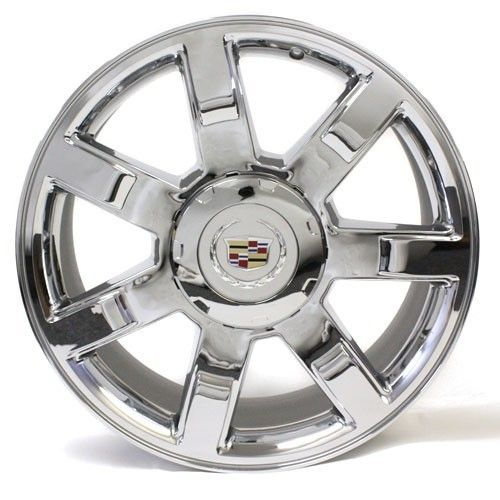 22 Cadillac Escalade Wheel Rim 5309 Chrome New