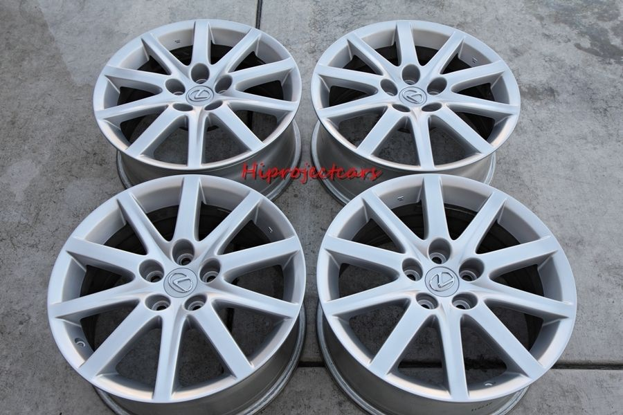 Factory Lexus GS300 17 OEM Wheels Rims 18 16 Toyota LS SC ES IS Camry
